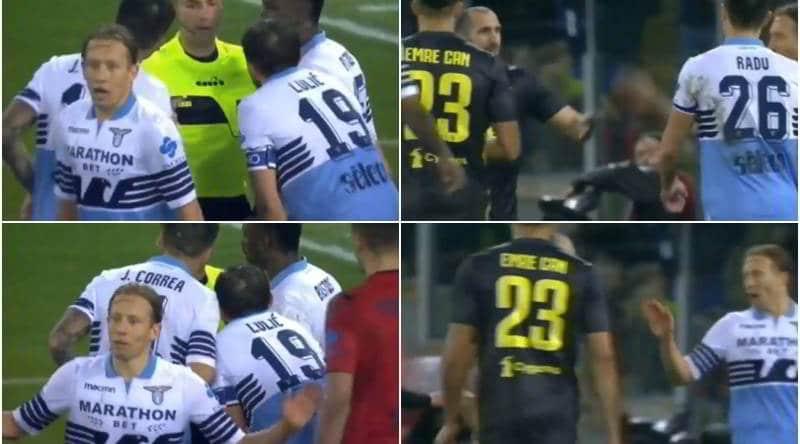 """Lazio, Leiva contro Chiellini: """"con voi è sempre così"""""""