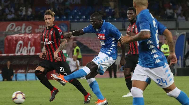 Milan-Napoli, probabili formazioni. La gara in streaming e Tv