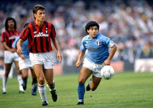 Napoli Mars ed M&M's. Ritorna lo sponsor della Copa Uefa 1989
