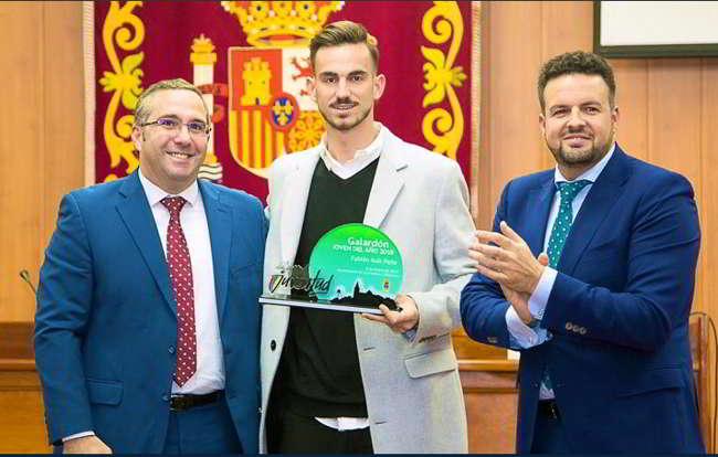 """Fabian Ruiz miglior giovane 2018: """"Napoli è una famiglia, spero..."""""""