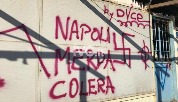 Albenga scritte razziste contro Napoli. Si inneggia Hitler e il Duce.