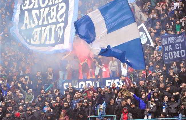 Napoli-Sassuolo curve a 3 euro. Ecco promozione lanciata dal Napoli