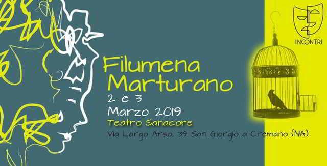 Filumena Marturano, in scena a San Giorgio a Cremano