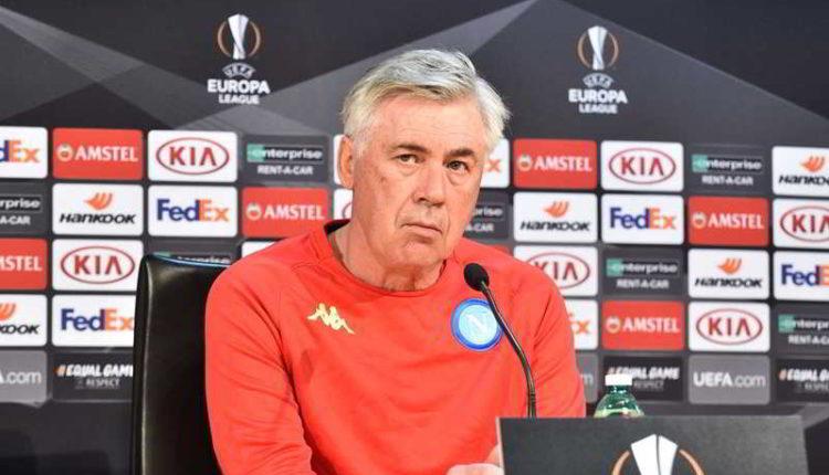 """Napoli Ancelotti: """" Voglio più cazzimma, noi come l'Atletico"""""""