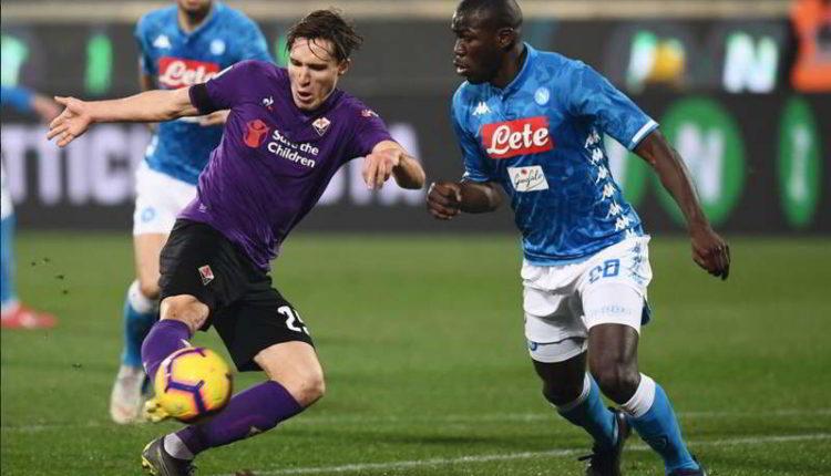 La moviola di Fiorentina-Napoli. Ghoulam e Biraghi: rischio rigore