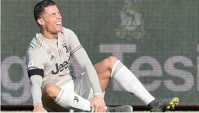 Juve, Infortunio per Ronaldo, tifosi in ansia per la sfida con il Napoli