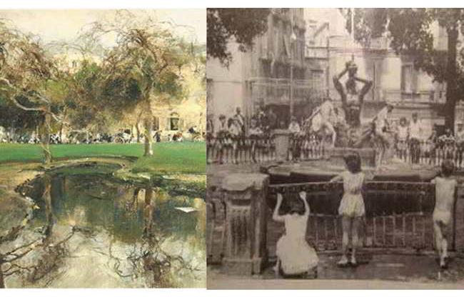 La fontana de paparelle a Napoli. Ecco perché si chiama così