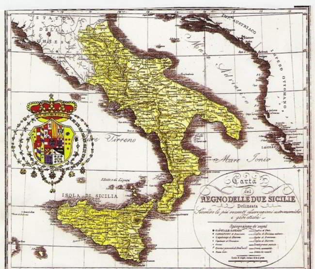 13 febbraio 1861 cade il regno delle due Sicilie. Inizia il declino del sud