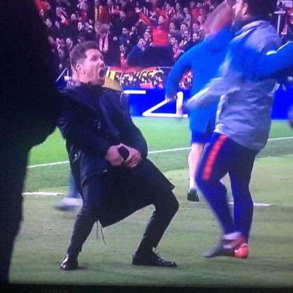 Atletico-Juve 2-0: La reazione di Simeone e il teatrino di Bonucci