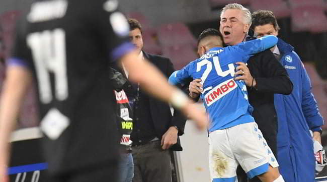 """Insigne: """"Ero triste perchè non segnavo. L'abbraccio con Ancelotti? Mi aveva detto che oggi avrei segnato!"""""""