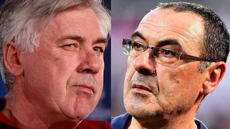 Il Napoli di Ancelotti e quello di Sarri: Ecco cosa è cambiato in un anno