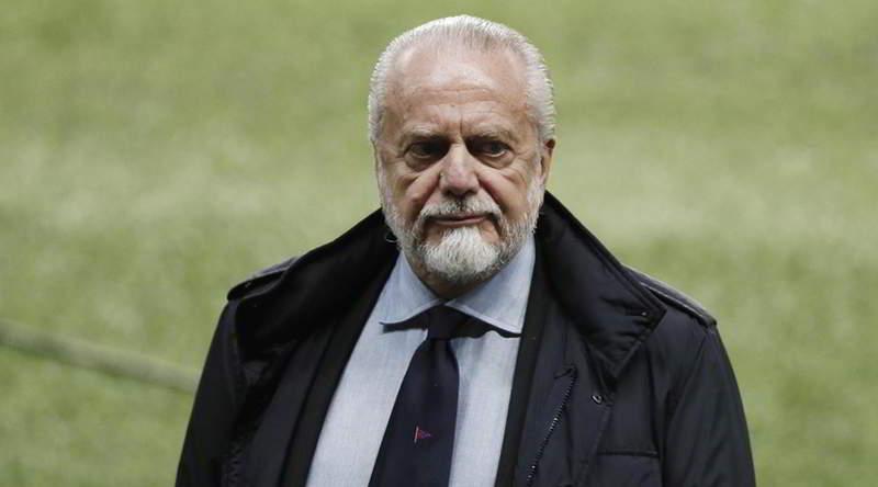 """Napoli, De Laurentiis: """"scudetto? ci crediamo ancora. Puntiamo all'Europa Legue"""""""