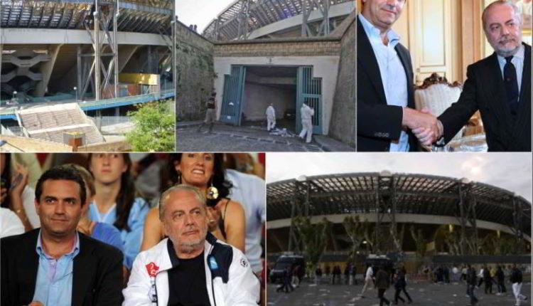 Ultim'ora De Laurentiis in comune per la convenzione sul San Paolo