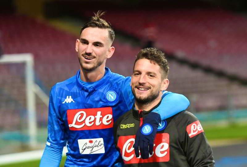 Napoli, Fabian Ruiz sostituto di Hamsik. Anceloti e il figlio divisi...