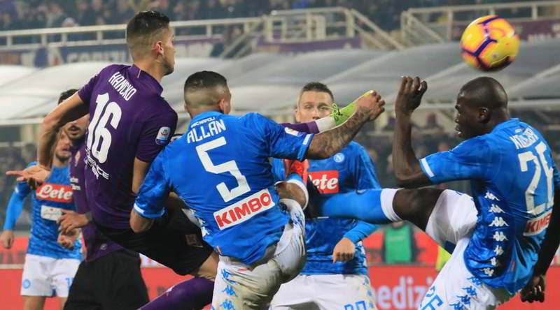 Fiorentina-Napoli 0-0. I viola sempre più amici della Juventus