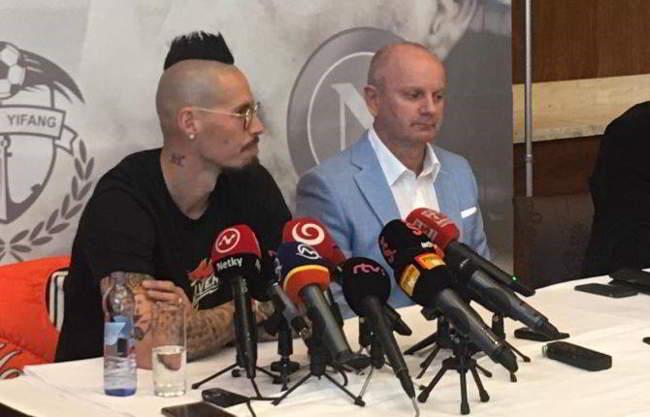 """Dalian, Hamsik: """"mai alla Juve. Carrasco e Lavezzi che consigli..."""""""