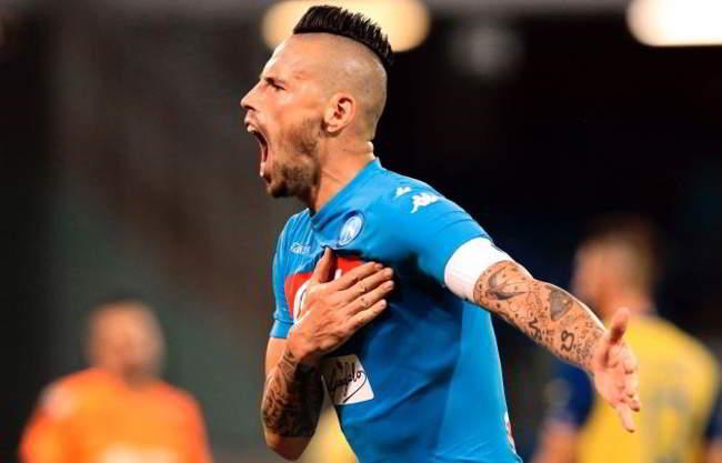 Hamsik guarderà Fiorentina-Napoli dalla Slovacchia, poi andrà a Madrid...