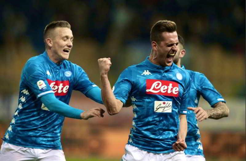 """Napoli, Milik: """"Ora sotto con la Juve. Ecco cosa mi ha detto Ancelotti"""""""