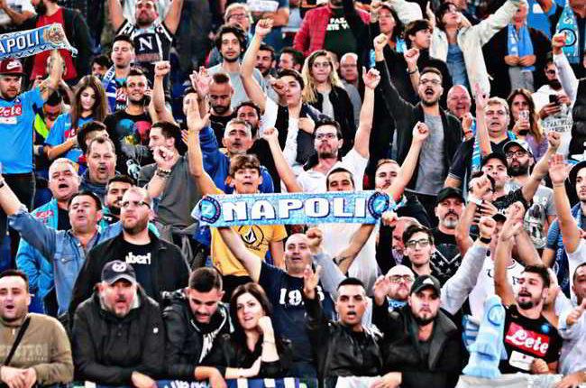 Il Napoli è la squadra più seguita dai tifosi fuori casa. I dettagli