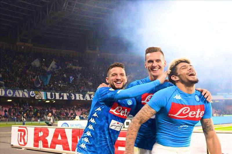 Napoli-Sampdoria: formazioni ufficiali e diretta streaming