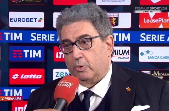 """Genoa, Perinetti: """"Kouamè, con il Napoli abbiamo parlato anche di Piatek"""""""