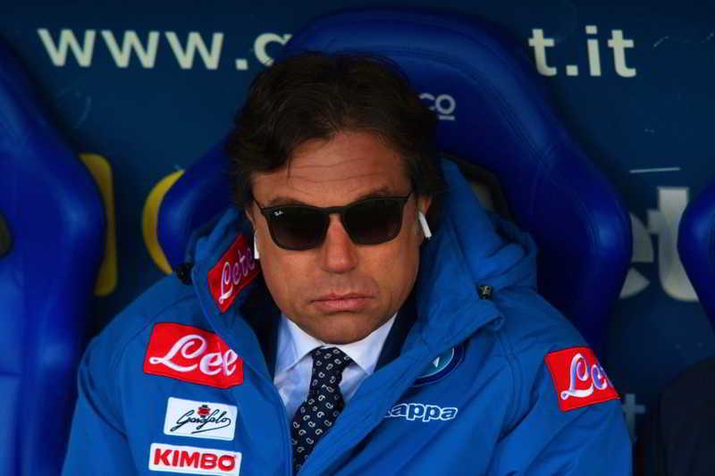 """Giuntoli: """"De Laurentiis personaggio particolare. Volevo restare a Napoli"""""""