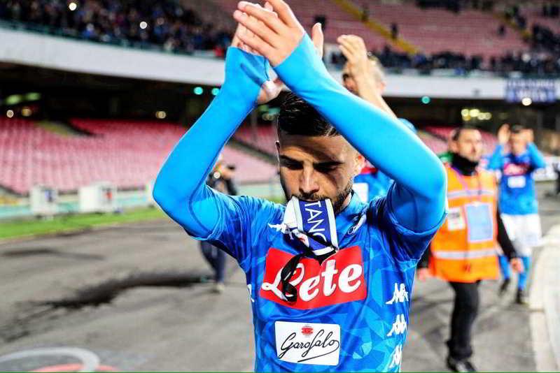 Napoli, Insigne nella lista di club inglesi. Raiola e la valutazione di ADL...