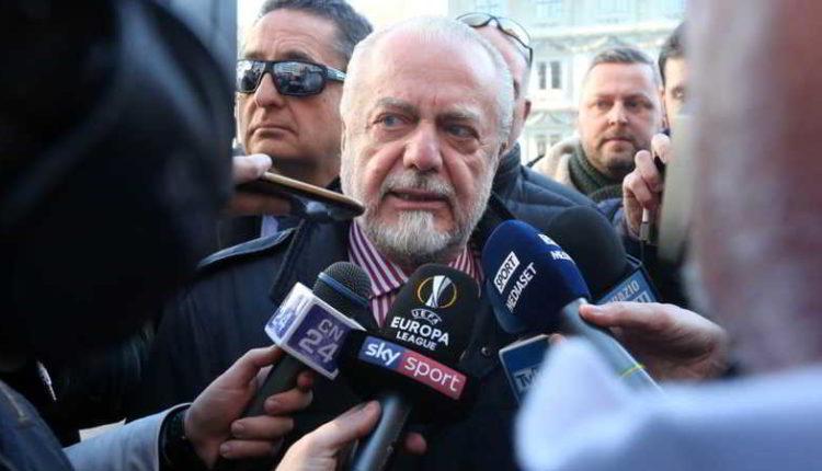 De Laurentiis infuriato con il comune lascia la riunione. Spunta una frase...