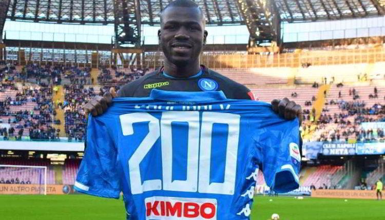 Napoli, Koulibaly 200 presenze in azzurro. Regalo speciale per il difensore
