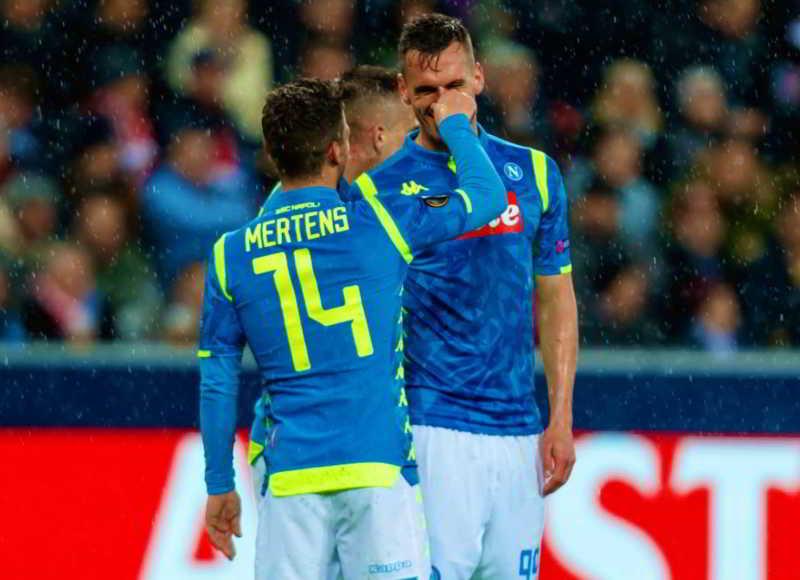 """Mertens: """"Non sono Milik. Arsenal? Non sono mai stato a Baku . Mi hanno insultato ..."""""""