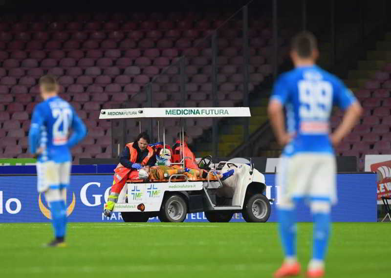 "Napoli, Ospina le prime parole dopo la paura: ""ho perso i sensi..."""