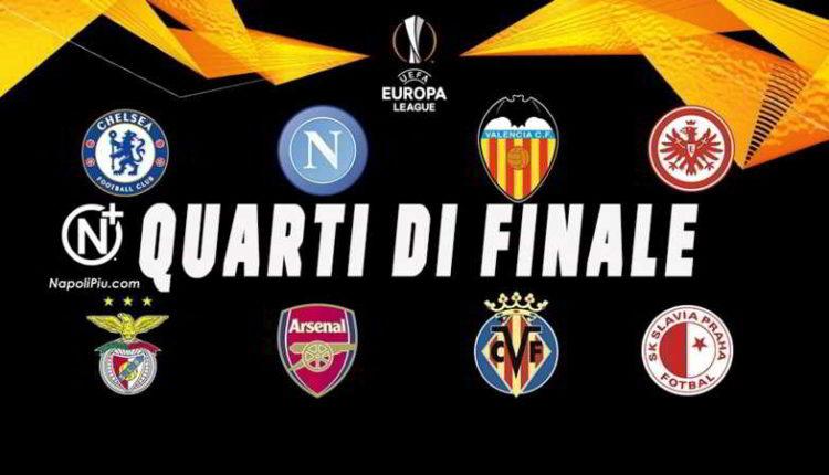 Napoli, sorteggi di Europa League: Le rivali e le date della gare