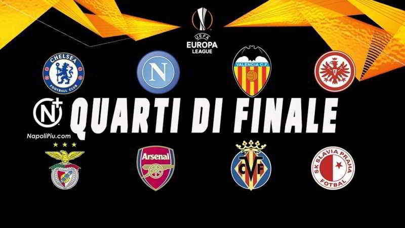 Calendario Europa League Ottavi.Napoli Sorteggi Di Europa League Le Rivali E Le Date Delle