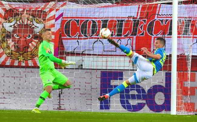 Salisburgo-Napoli. Gli azzurri ai quarti di Europa League