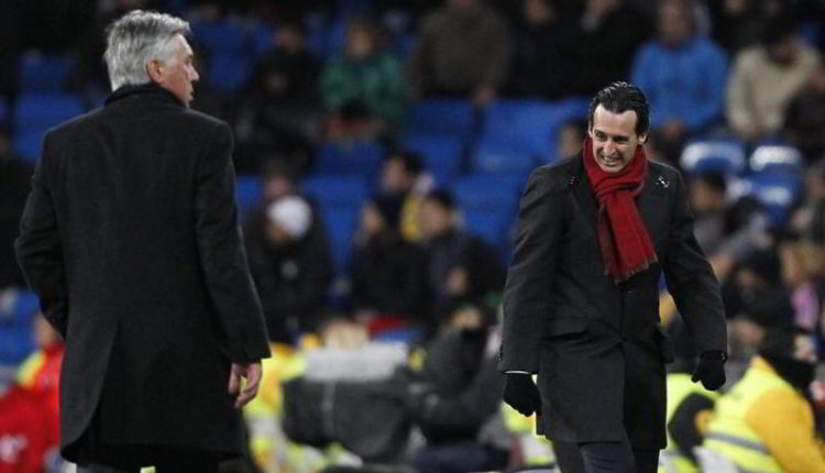 Arsenal-Napoli. Ancelotti ha un conto in sospeso con Emery