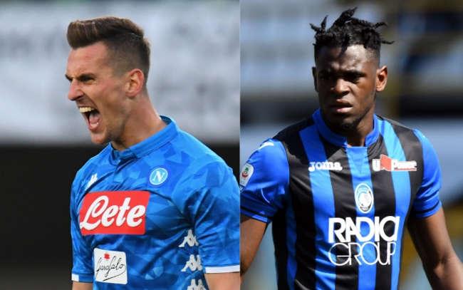 Napoli-Atalanta Le ultime. Ancelotti ritrova Albiol. Gaspetini perde Toloi