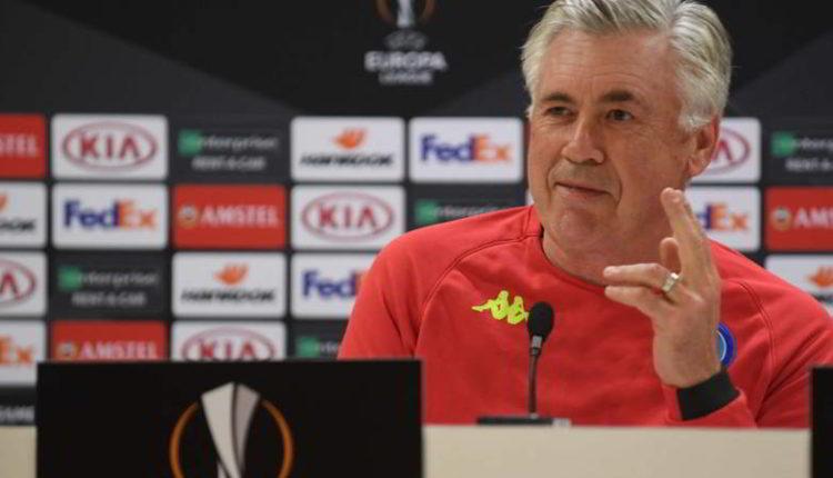 """Arsenal, Napoli, Ancelotti: """"Gara non decisiva, ma dobbiamo essere coraggiosi"""""""