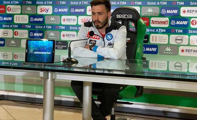 """SKY. Davide Ancelotti: """"A Napoli si lavora Benissimo. A Frosinone per i tre punti"""""""