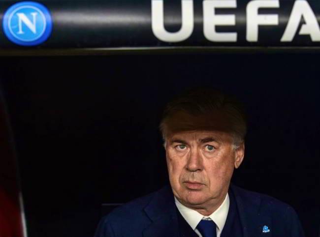 Il Roma. Ancelotti furioso nello spogliatoio. Ecco cosa è successo.