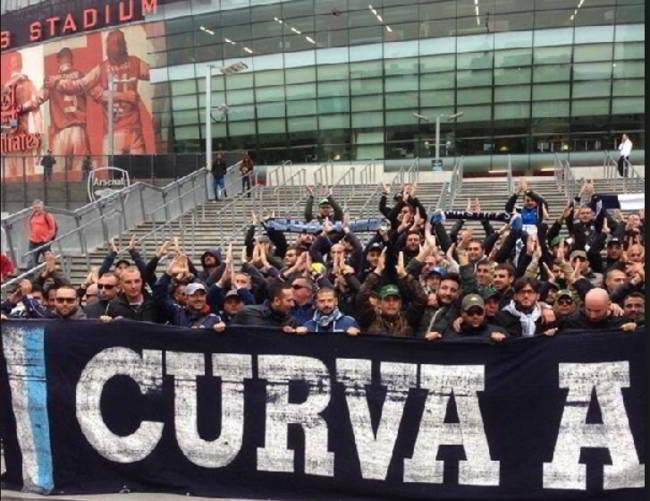 Arsenal-Napoli, in 3mila all'Emirates stadium. Sold out per il ritorno