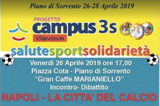 Napoli la città del calcio al Campus3S Givova
