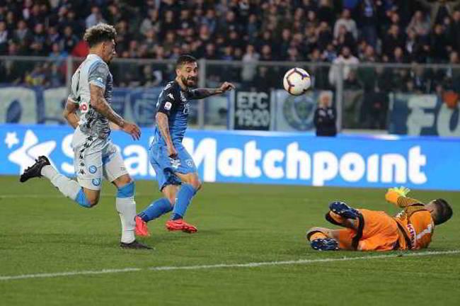 Il Napoli cade a Empoli. Pessima prova degli azzurri