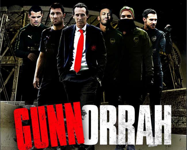 L'Arsenal fa festa citando Gomorra che diventa Gunnorrah