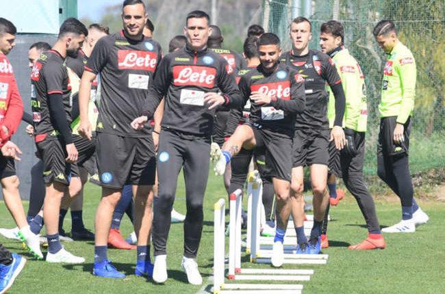 Il Napoli in ritiro a Verona.Younes scalpita, torna Albiol