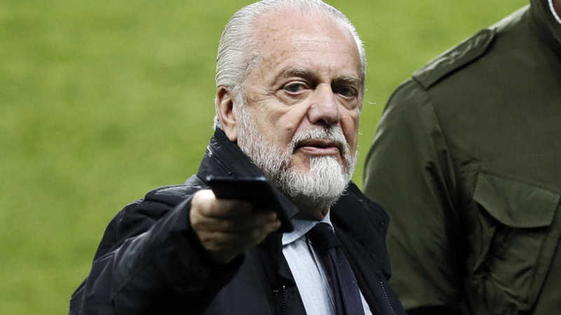 "De Laurentiis: ""Basta Champions e Europa League si all'European Cup"""