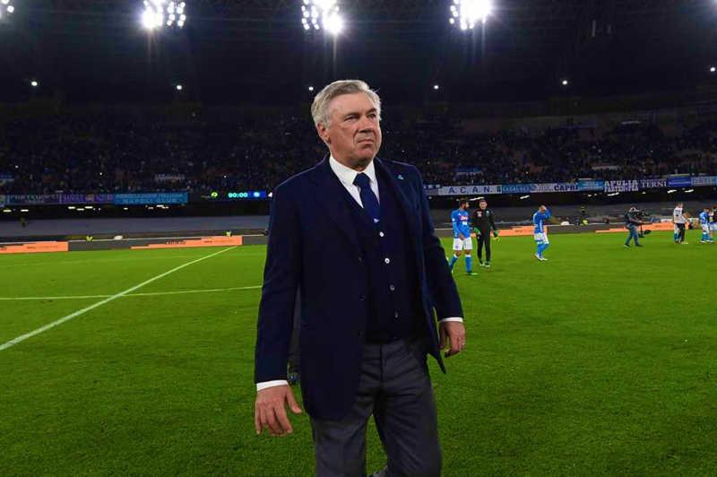 """Ancelotti: """"Spero di restare quanto più a lungo possibile a Napoli"""""""