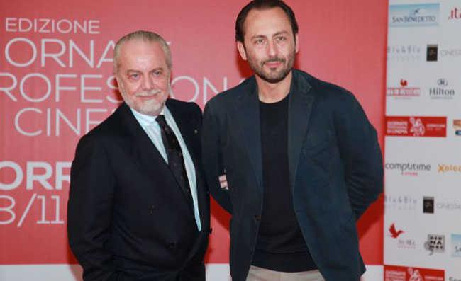 """Luigi De Laurentiis: """"mio padre, Angelina Jolie e il forza Napoli con Obama"""""""