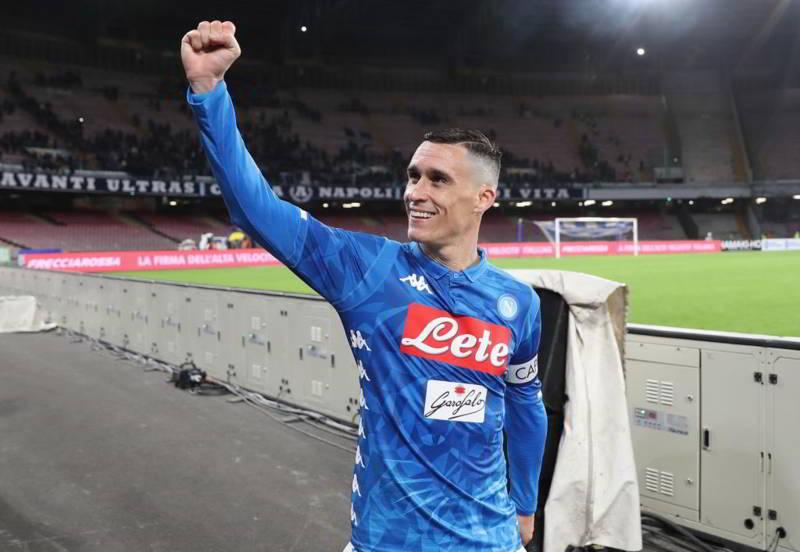 """Napol-Inter. Callejon: """"dobbiamo continuare così e fare il secondo goal"""""""