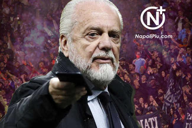 Pro o contro De Laurentiis. La guerra del tifo mette il Napoli in secondo piano