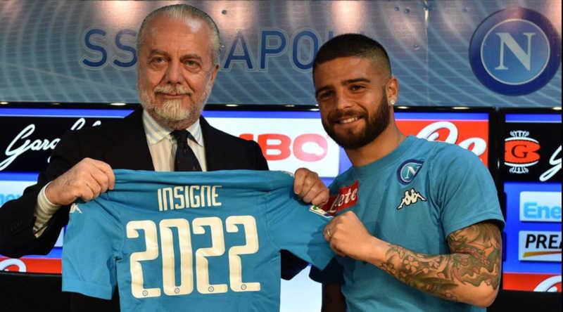 """De Laurentiis: """"Insigne resta. Futuro di Ancelotti chiaro. Porto il Napoli a New York"""""""